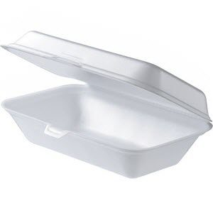 Snack Pack Large White Foam 100