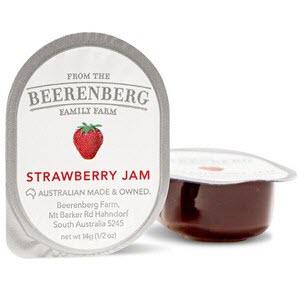 Strawberry Jam Portion Control 48 X 14g