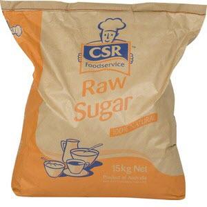 Sugar Raw 15kg