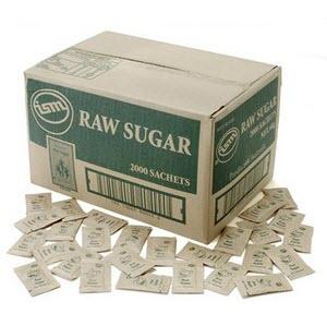 Sugar Raw Portion Control 101327