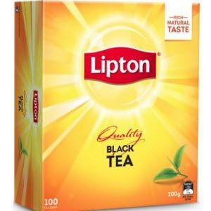 Tea Black Lipton Cups Bags 105567