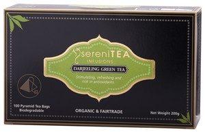 Tea Darjeeling Green Pryamid 100s