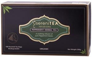 Tea Peppermint Pyramid 100s