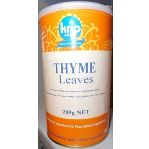 Thyme Leaves Canister 200g