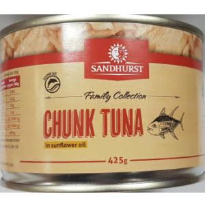 Tuna Fish In Oil 425g Sandhurst 104655