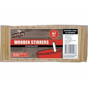 Wooden Coffee Stirrers 1,000s