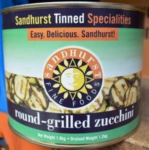Zucchini Chargrilled 100129