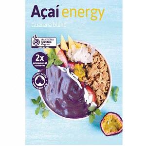 Acai Energy Organic 60 X 100g