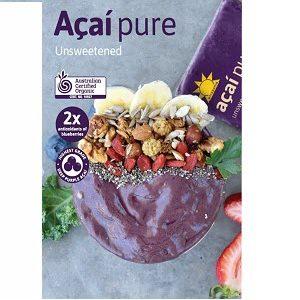 Acai Pure 60 X 100g Organic
