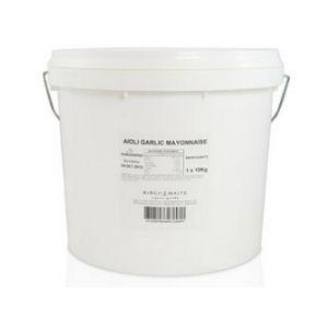 Aioli Garlic Mayonnaise Gluten Free 10kg Bucket