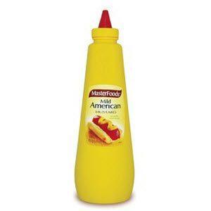 American Mustard Squeeze Bottle 100700