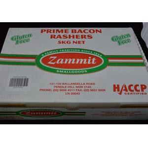 Bacon Cafe Rindless GF 5kg