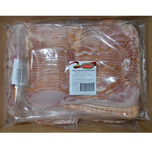 Bacon Rindless Rasher 5kg