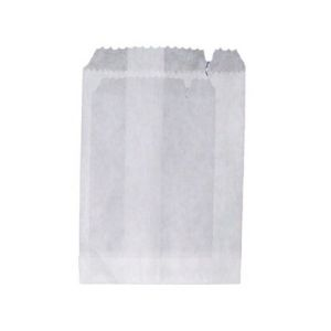 Bags Paper White 1W Strung 178 X 165mm 500s