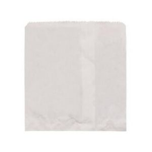 Bags Paper White 2W Strung 200 X 200mm 500s