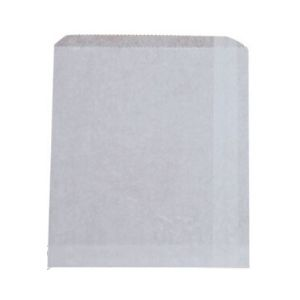 Bags Paper White 3F Strung 240 X 200mm 500s