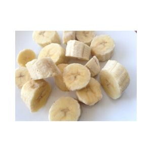 Banana Chunks 35mm Bulk 10kg A Grade
