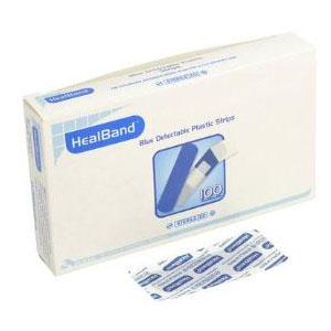 Band Aid Blue 100s