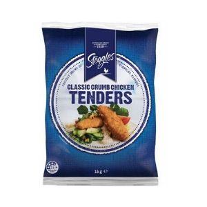 Chicken Tender Crumbed 1kg