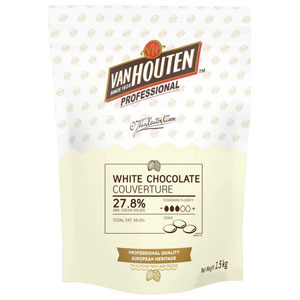 Chocolate White Callets 1.5kg