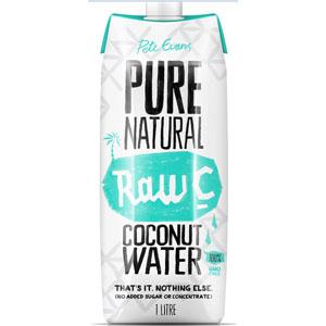 Coconut Water Tetra Pak 6 x 1L Raw C