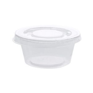 Cups Round Portion Control 125 X 2oz