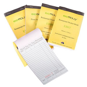 Docket Book Duplicate 10 x 100 Pages