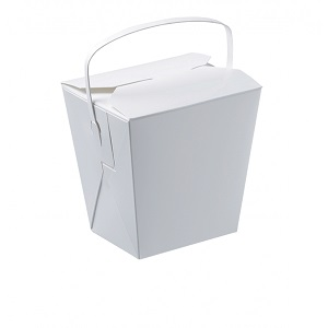 Food Pail With Handle 26oz Cardboard 250s