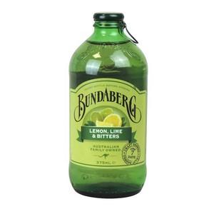 Lemon Lime Bitters Glass Bottle 12 X 375ml