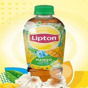Lipton Ice Tea Mango Glass 107830 3