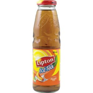 Lipton Ice Tea Peach Glass 107299