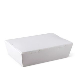 Lunch Box White Medium 200s Window