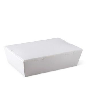 Lunch Box White Small 200s Window