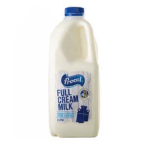 Milk Fresh Full Cream 6 X 2LMilk Fresh Full Cream 6 X 2L