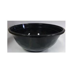 Noodle Bowl Black Plastic 1050ml 400s