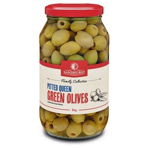 Olives Green Pitted 2kg