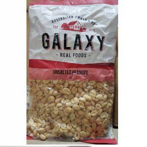 Peanuts Roasted Unsalted 1kg