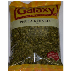 Pepitas Pumpkin Kernels 1kg