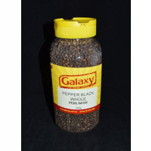 Peppercorns Whole Black 550g