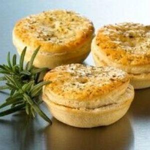 Pies Petite Lamb Rosemary 48 x 50g