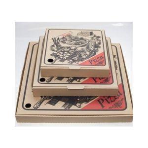 Pizza Box 13in Cardboard 100s