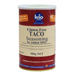 Taco Seasoning Canister GF 500g