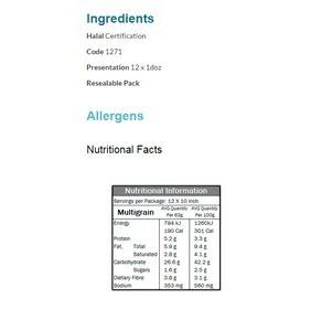 Tortilla Multigrain 106588 2