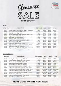 St. George August 2020 Clearance sale flyer